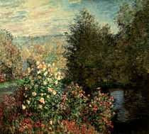 C.Monet, Gartenwinkel in Montgeron by AKG  Images