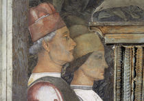 A.Mantegna, Camera d.Sposi, Hoeflinge von AKG  Images