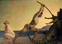 F.Valotton, Perseus den Drachen toetend von AKG  Images