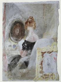 W.Turner, Frau vor dem Spiegel by AKG  Images
