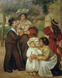 Auguste Renoir, La famille d'artiste by AKG  Images