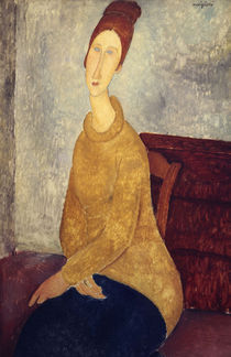 A. Modigliani, Jeanne Hebuterne Sweater by AKG  Images