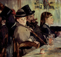 Edouard Manet, Im Cafe/ 1878 by AKG  Images
