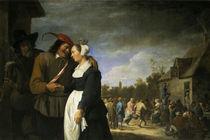 David Teniers d.J. / Bauernhochzeit von AKG  Images