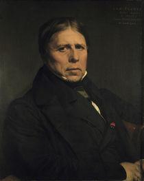 J.A.D.Ingres, Selbstbildnis 1858 by AKG  Images