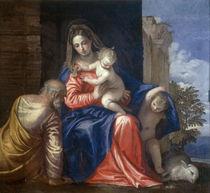 P.Veronese, Hl.Familie mit Johannes von AKG  Images