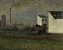 G.Seurat, Der Vorort by AKG  Images