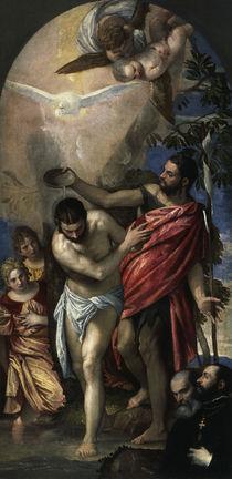 Veronese, Taufe Christi von AKG  Images