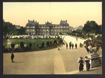 Paris, Palais du Luxembourg / Photochrom von AKG  Images