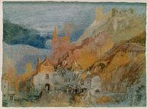 W.Turner, Am Ende des Weges von Bernkast by AKG  Images