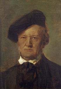 Richard Wagner / Lenbach by AKG  Images