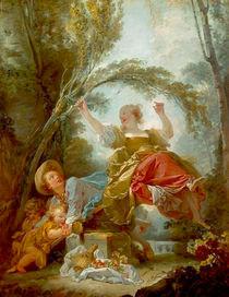 Fragonard, Die Schaukel von AKG  Images
