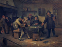 J.Steen, Streitende Bauern im Wirtshaus von AKG  Images