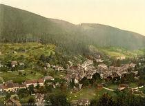 Wildbad, Stadtansicht / Photochrom von AKG  Images