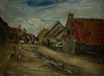 M.Liebermann, Dorfstrasse in Holland von AKG  Images