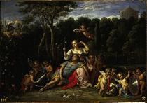 D.Teniers, Rinaldo im Garten der Armida by AKG  Images