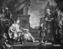W.Hogarth, Moses Brouhgt to Pharao's... by AKG  Images