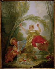 Jean Honore Fragonard, Die Wippe by AKG  Images