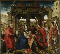 Rogier van der Weyden, Anbetung d.Koenige by AKG  Images