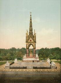 London, Albert Memorial / Photochrom von AKG  Images