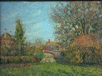 C.Pissarro, Herbst in Eragny von AKG  Images