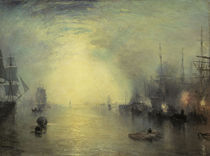 Turner, Keelmen Heaving in Coals/um 1835 von AKG  Images