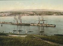 Douglas, Isle of Man, Hafen / Photochrom von AKG  Images