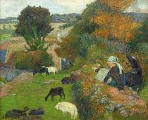 P.Gauguin, Bretonische Schaeferin von AKG  Images