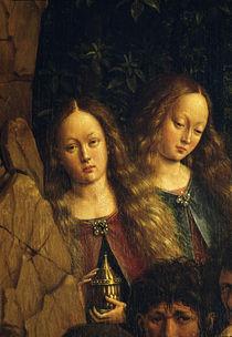 Maria Magdalena /Jan v.Eyck, Genter Alt. von AKG  Images