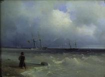 I.K.Aiwasowski/ Meereskueste/ 1840 by AKG  Images