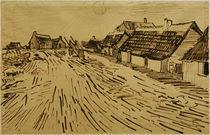 V.v.Gogh, Sonnenbeschienene Haeuser by AKG  Images