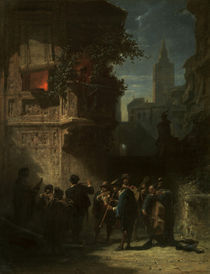 Spitzweg/Spanisches Staendchen/1855-56 by AKG  Images