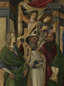 S.Botticelli, Katharina, Augustinus u.a. von AKG  Images