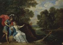 D.Teniers, Versoehnung Rinaldos m.Armida von AKG  Images