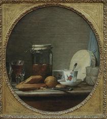 J.B.S.Chardin, Das Aprikosenglas by AKG  Images