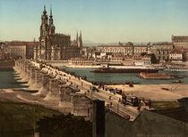 Dresden, Blick von der Neustaedter Seite von AKG  Images
