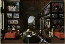 J.Brueghel d.Ae., Inneres der Linder-Gal. by AKG  Images