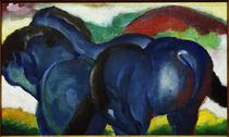 Franz Marc, Die kleinen blauen Pferde by AKG  Images