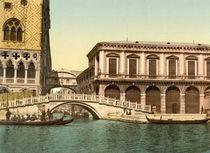 Venedig,Seufzerbruecke,Prigioni/Photochro by AKG  Images
