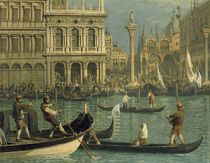 Venedig, Piazzetta / Gem.v.Canaletto by AKG  Images