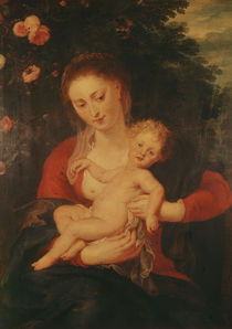 P.P.Rubens, Madonna mit Vergissmeinnicht von AKG  Images