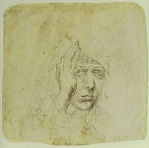Albrecht Duerer, Selbstbildnis um 1490 by AKG  Images