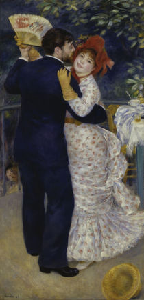 A.Renoir, Tanz auf dem Lande / 1883 by AKG  Images