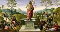 Perugino, Auferstehung Christi by AKG  Images