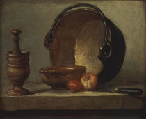Chardin, Der Kupferkessel by AKG  Images