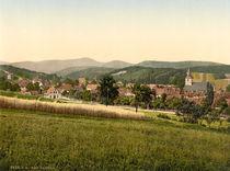 Bad Sachsa, Ortsansicht / Photochrom von AKG  Images