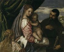 P.Veronese, Maria mit Kind u.M.Spaventi von AKG  Images