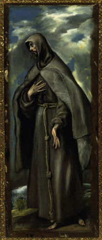 El Greco, Franz von Assisi by AKG  Images