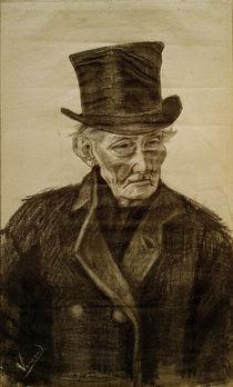V.van Gogh, Alter Mann mit Zylinder von AKG  Images