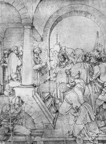 Duerer, Christus vor Pilatus / Zeichn. von AKG  Images